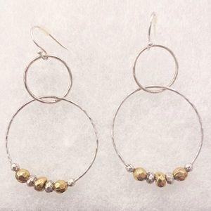 NWOT 🍀 Lucky Brand hoop earrings